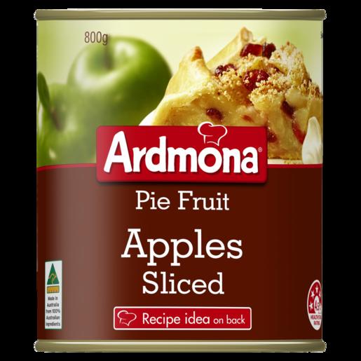 Ardmona Pie Fruit Apples Sliced 800g