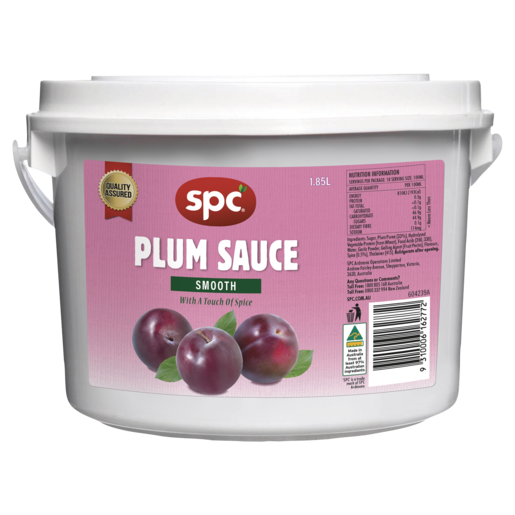 SPC Plum Sauce Smooth 1.85L