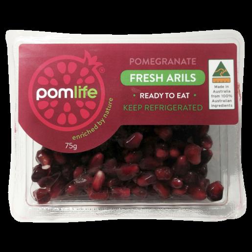 Pomlife Fresh Pomegranate Arils 75g