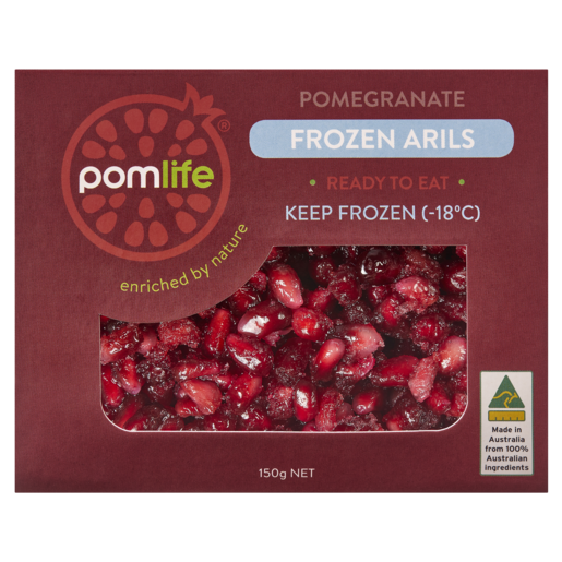 Pomlife Pomegranate Frozen Arils 150g