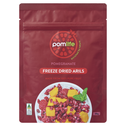 Pomlife Pomegranate Freeze Dried Arils 50g