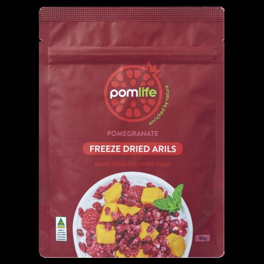 Pomlife Pomegranate Freeze Dried Arils 50g