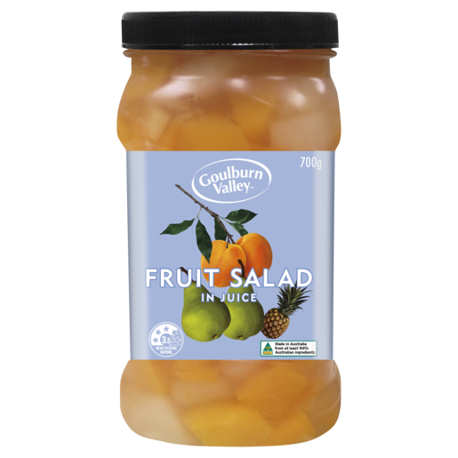 Goulburn Valley Fruit Salad in Juice 700g