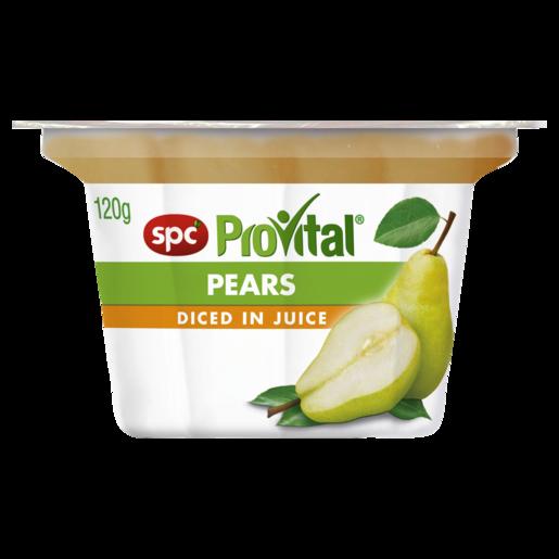 SPC ProVital Pears Diced in Juice 120g
