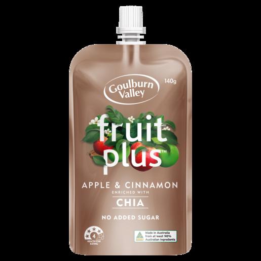 Goulburn Valley Fruit Plus Apple & Cinnamon 140g