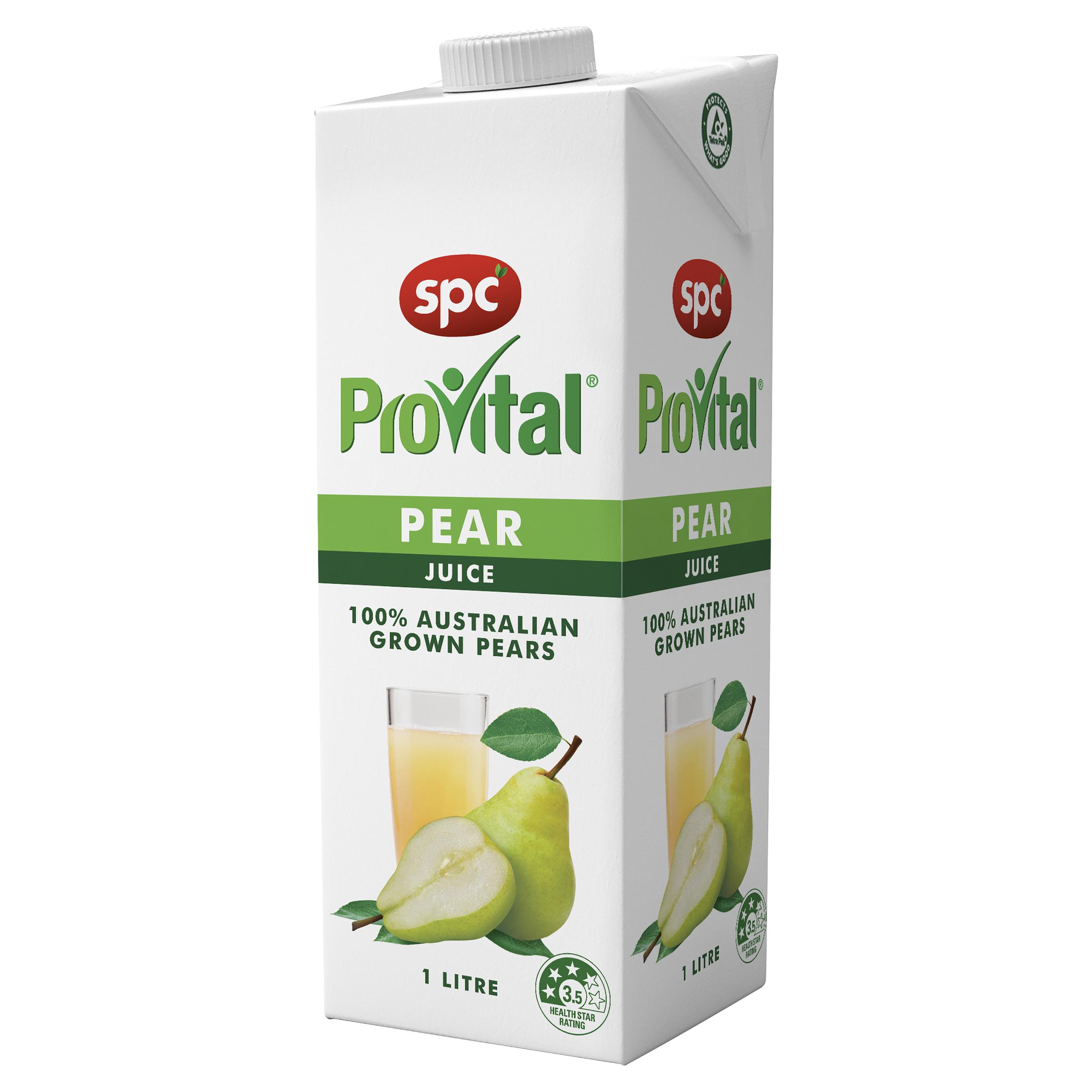 SPC Provital Pear Juice 1L