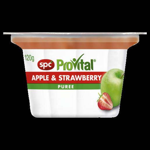 SPC ProVital Apple & Strawberry Puree 120g