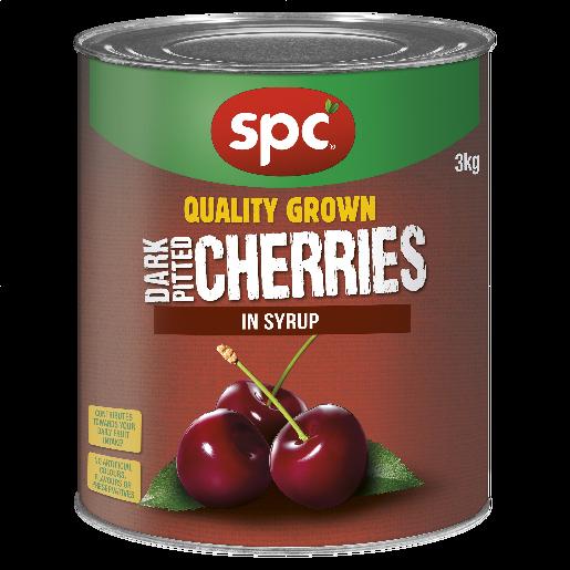 SPC Cherries Dark Pitted in Syrup 3kg