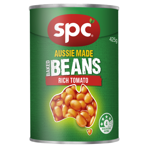 SPC Baked Beans Rich Tomato 425g