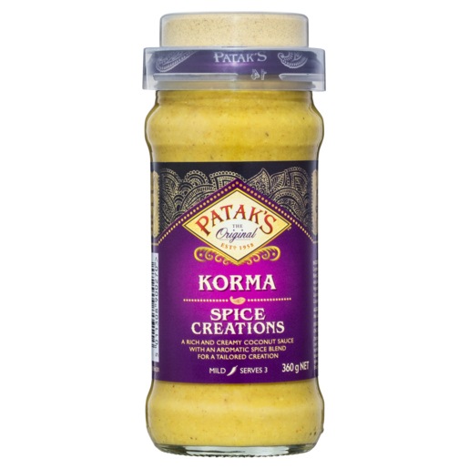 Patak's Spice Creations Korma 360g