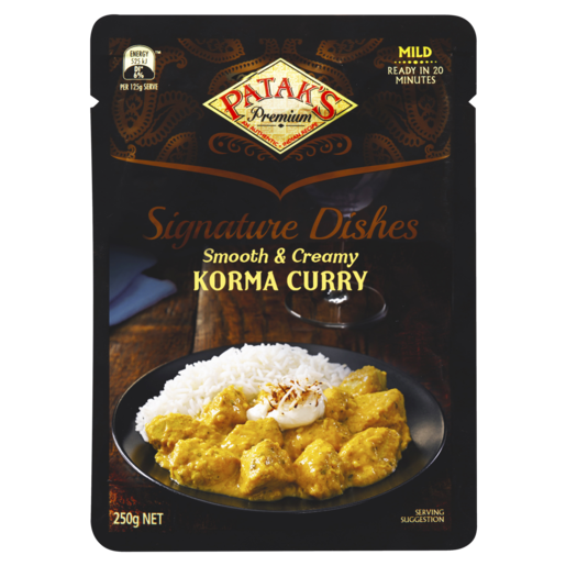 Patak's Premium Signature Dishes Korma Curry 250g