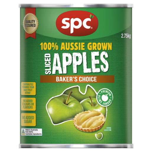 SPC Sliced Apples Baker's Choice 2.75g