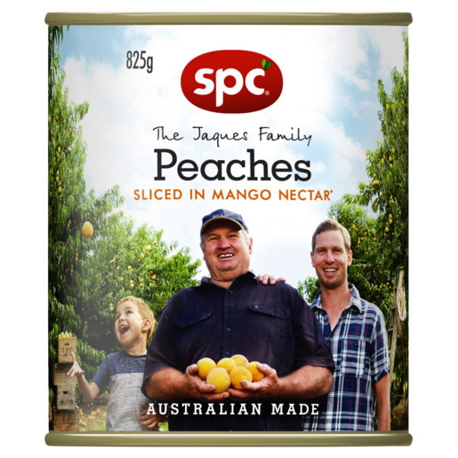 SPC Peaches Sliced in Mango Nectar 825g