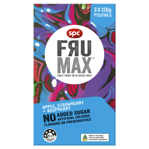 SPC Frumax Apple, Strawberry & Raspberry 3 x 120g