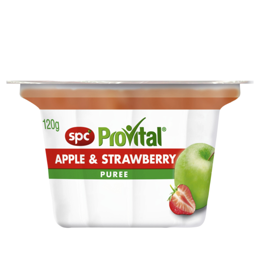 SPC ProVital Apple & Strawberry Puree 120g