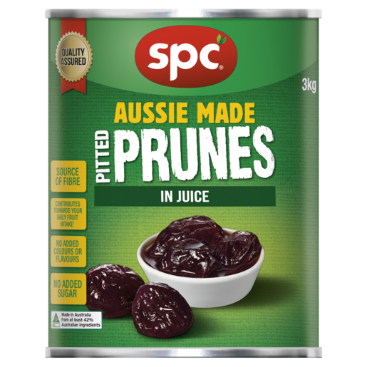 SPC Pitted Prunes in Juice 3kg