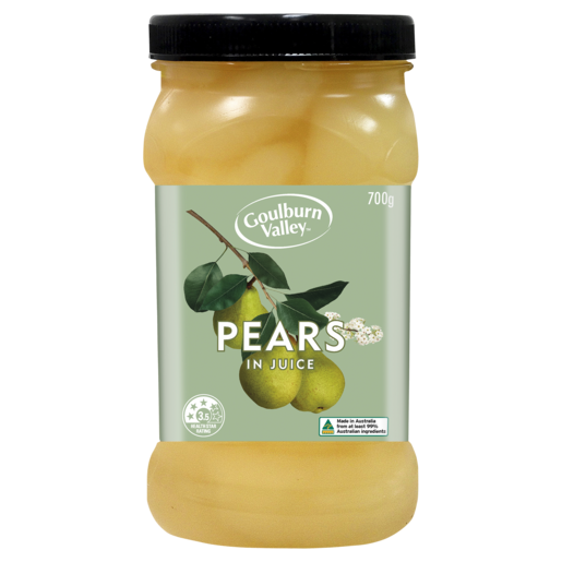 Goulburn Valley Pears in Juice 700g