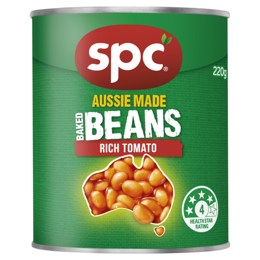 SPC Baked Beans Rich Tomato 220g