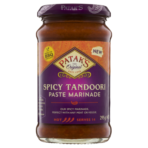 Patak's Paste Marinade Spicy Tandoori 295 g