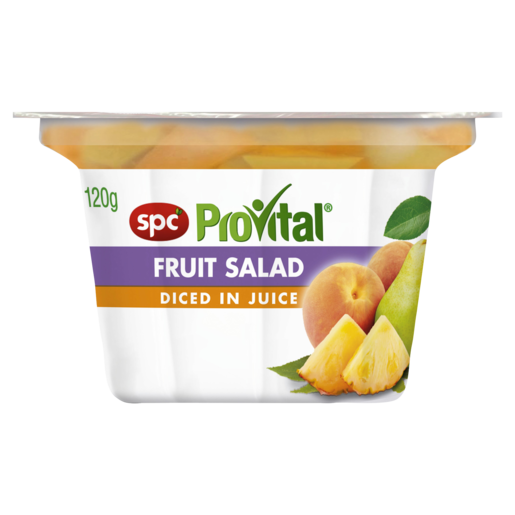 SPC ProVital Fruit Salad Diced in Juice 120g