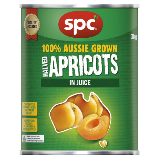 SPC Halved Apricots in Juice 3kg