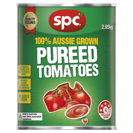SPC Pureed Tomatoes 2.95kg