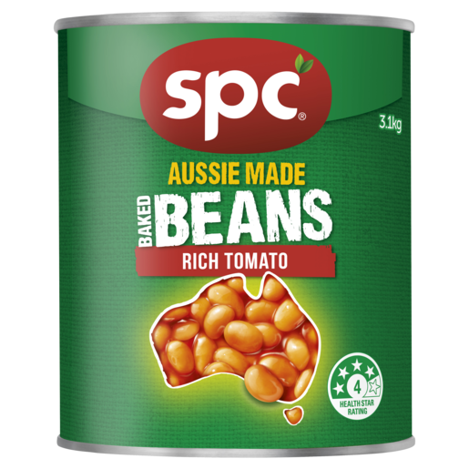 SPC Baked Beans Rich Tomato 3.1kg