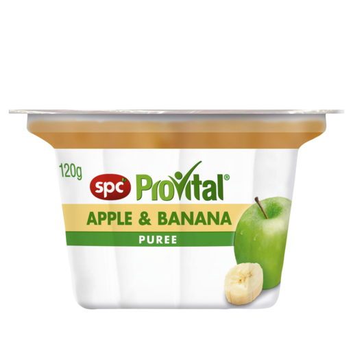 SPC ProVital Apple & Banana Puree 120g