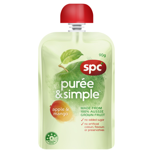 SPC Puree & Simple Apple & Mango 90g