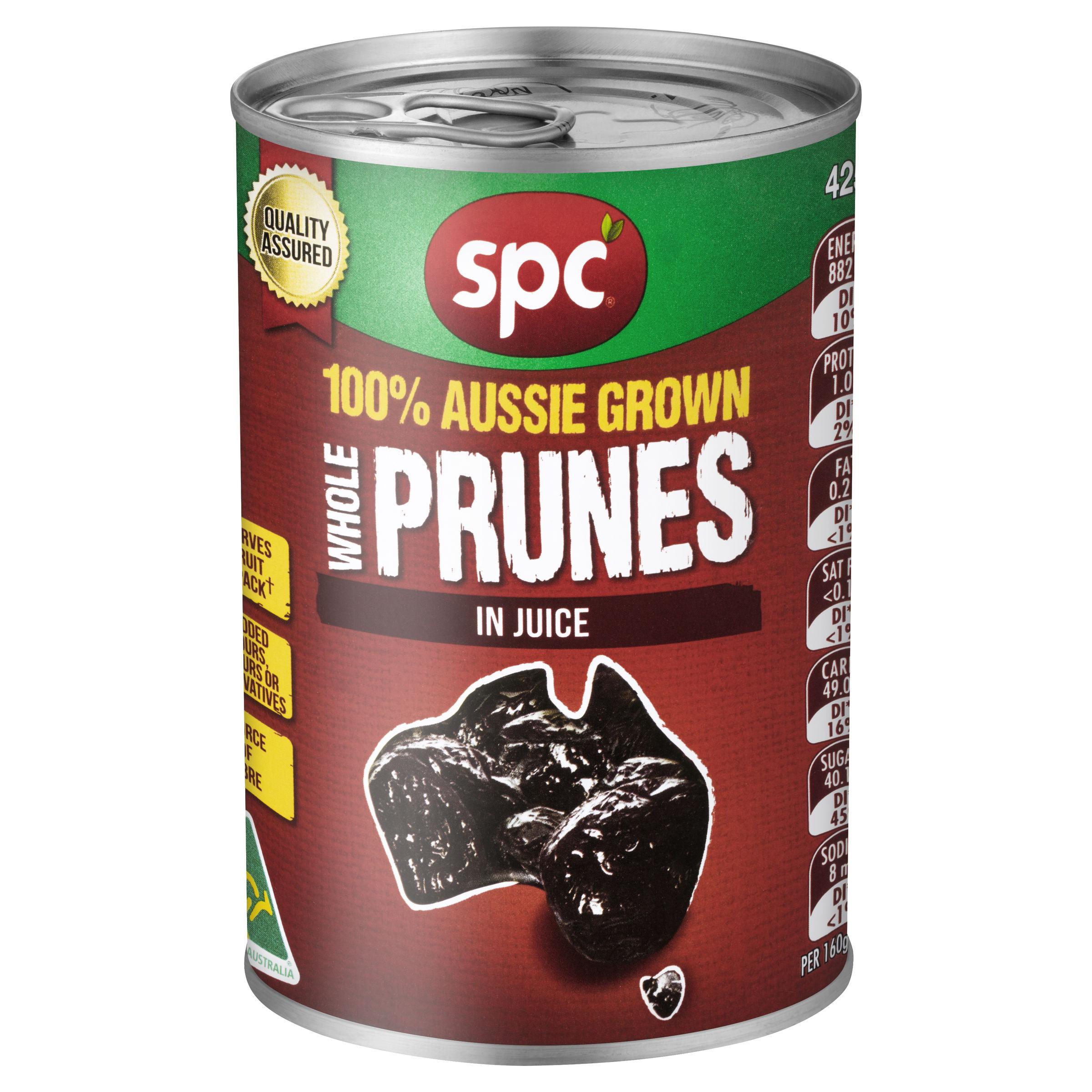 SPC Whole Prunes in Juice 425g