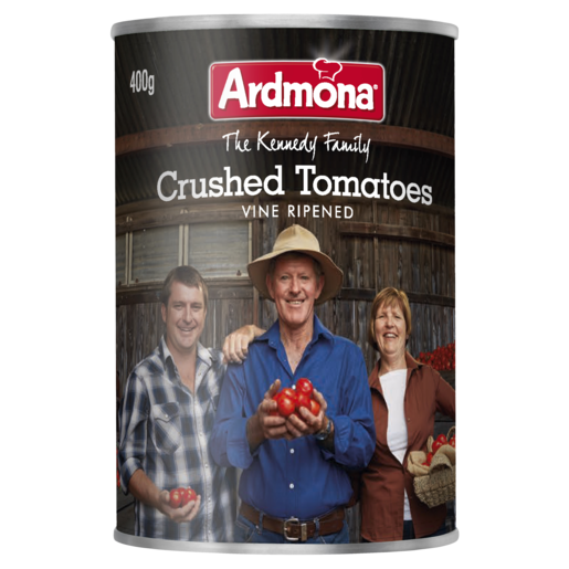 Ardmona The Kennedy Family Crushed Tomatoes Vine Ripened 400g
