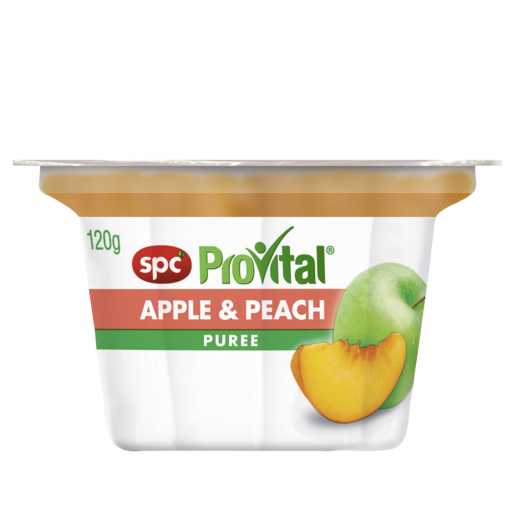 SPC ProVital Apple & Peach Puree 120g