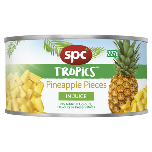 SPC Tropics Pineapple Pieces in Juice 227g