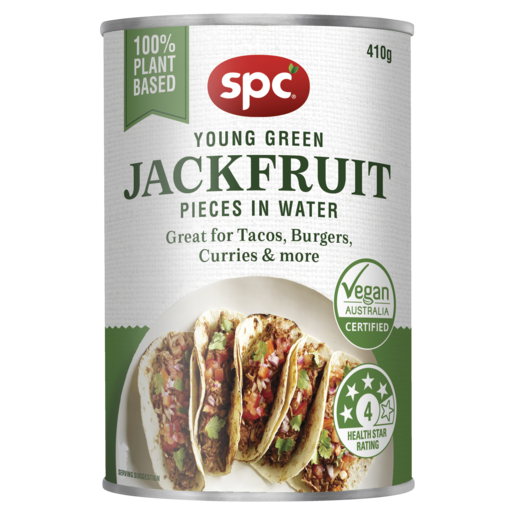 SPC Young Green Jack Fruit Pieces in Water 410g