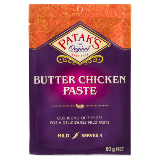 Patak's Butter Chicken Paste 80g