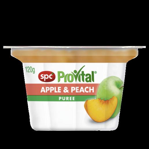 SPC ProVital Apple & Peach Puree 120g