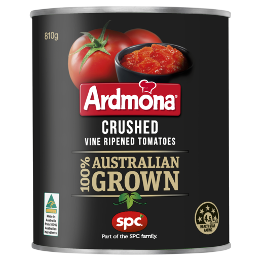 Ardmona Crushed Vine Ripened Tomatoes 810g