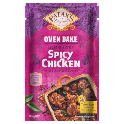Patak's Oven Bake Spicy Chicken 120 g