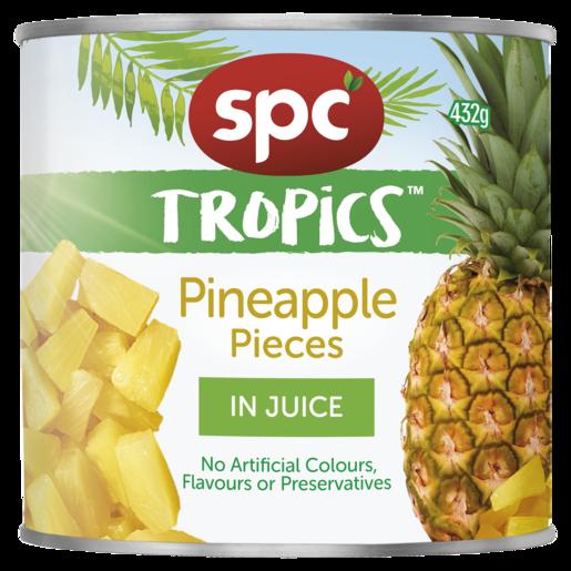 SPC Tropics Pineapple Pieces in Juice 432g
