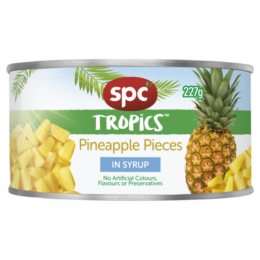 SPC Tropics Pineapple Pieces In Syrup 227g