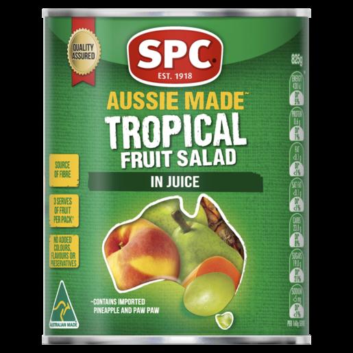 SPC Tropical Fruit Salad Juice 825g