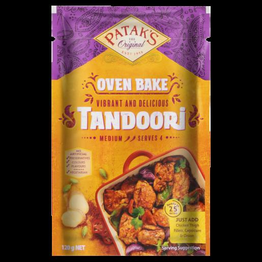 Patak's Oven Bake Tandoori 120g
