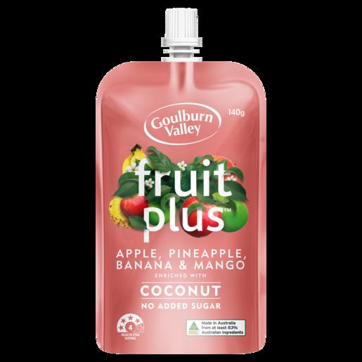 Goulburn Valley Fruit Plus Apple, Pineapple, Banana & Mango 140g