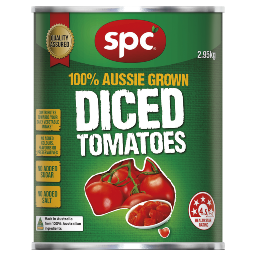 SPC Diced Tomatoes 2.95kg