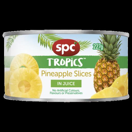 SPC Tropics Pineapple Slices in Juice 227g