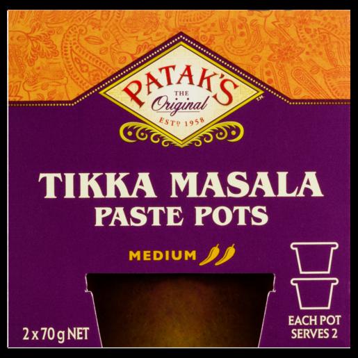 Patak's Tikka Masala Paste Pots 2 x 70g