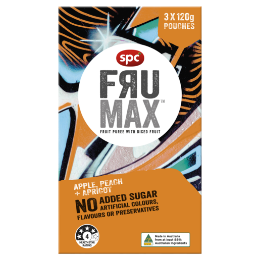 SPC Frumax Apple, Peach & Apricot 3 x 120g