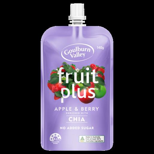 Goulburn Valley Fruit Plus Apple & Berry 140g