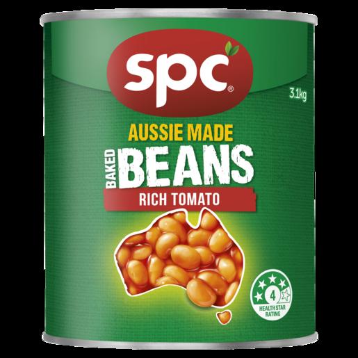 SPC Baked Beans Rich Tomato 3.1kg