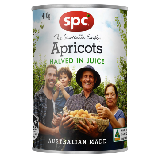 SPC Apricots Halved in Juice 410g